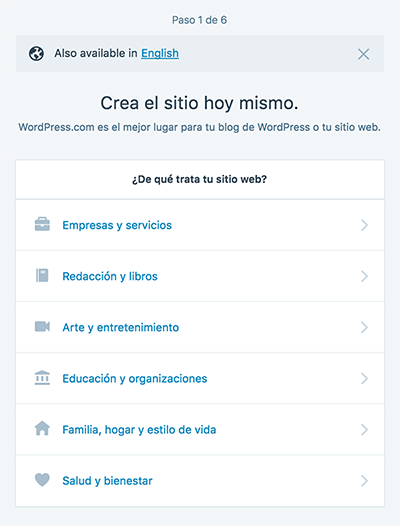 Cómo iniciar un blog en 10 minutos gratis con WordPress